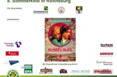 "8. Sommerkino – Film: ""Sushi in Suhl"""