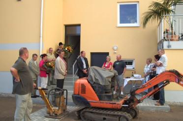 Bauvorhaben: Fertigstellung WHS Schlossstraße 12 (Niedrigenergiehaus)