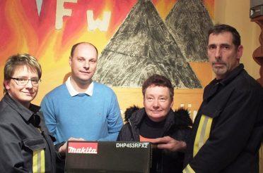 Danke an Kameraden der Feuerwehr