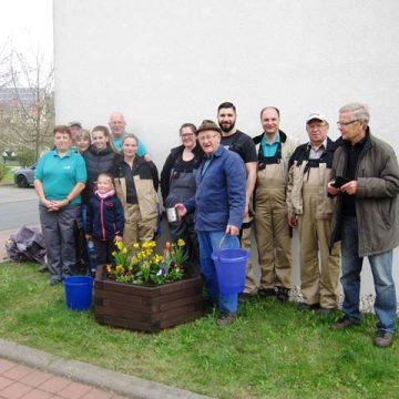 Frühjahrsputz in Ronneburg