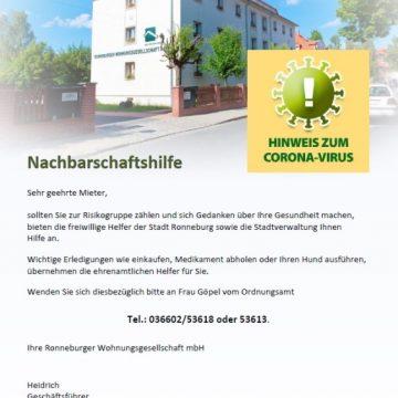 Nachbarschaftshilfe für Mieter und Eigentümer